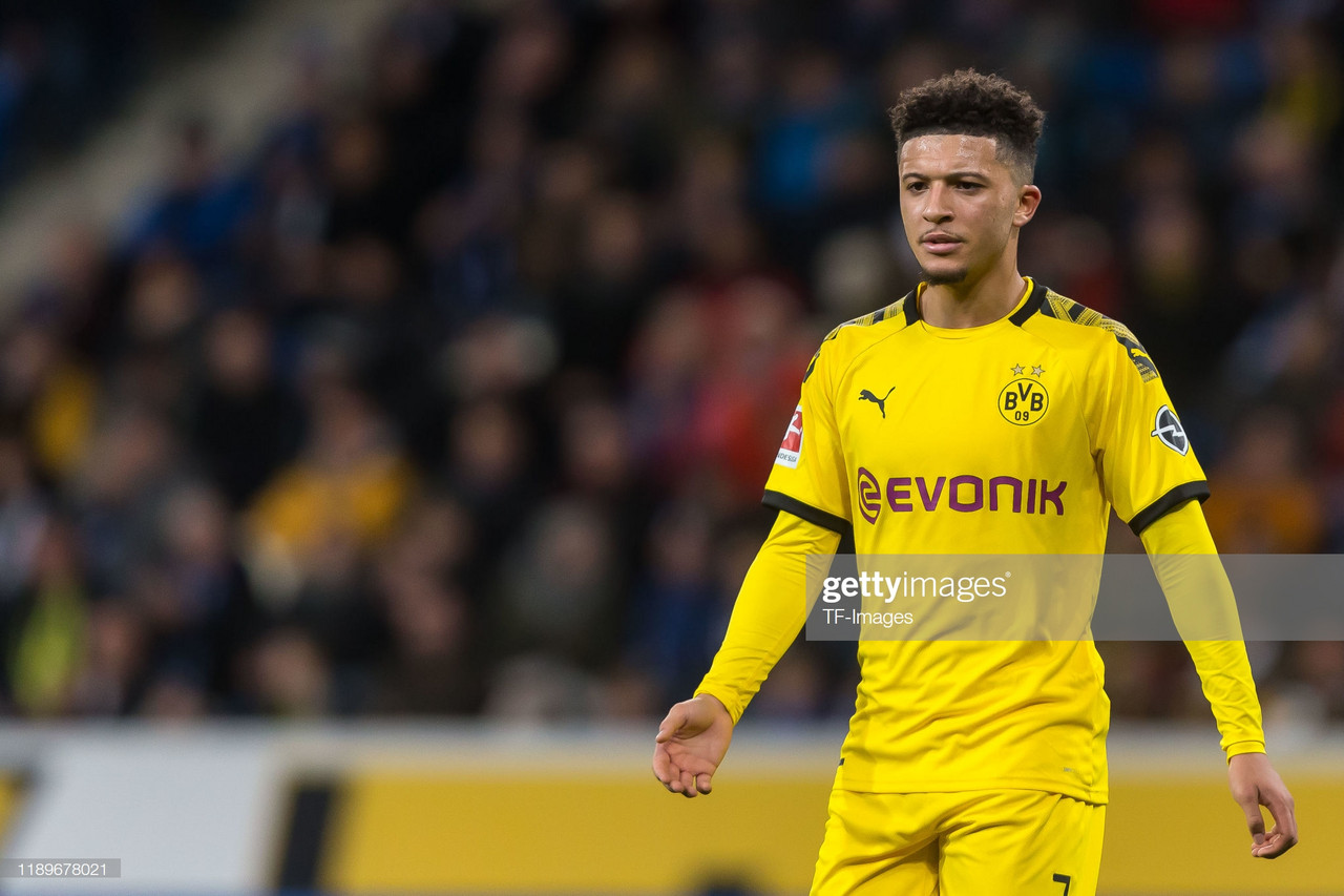 RUMOUR: Chelsea close in on Jadon Sancho transfer