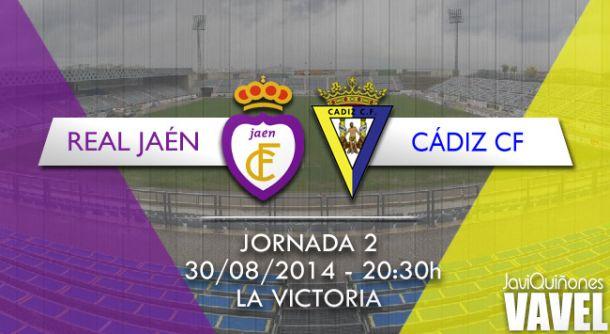 Real Jaén CF-Cádiz CF: Reencuentro en La Victoria