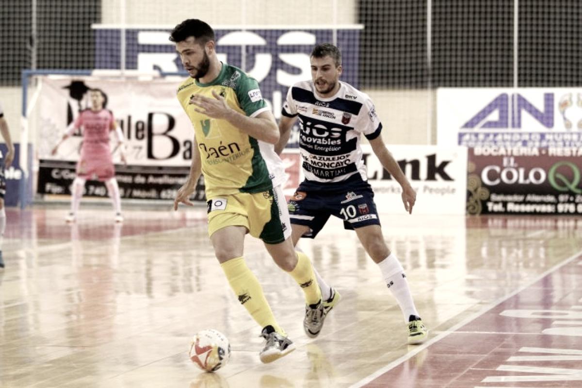 El Jaén consigue dar el primer golpe en la semifinal de Copa ante Ríos Renovables Zaragoza