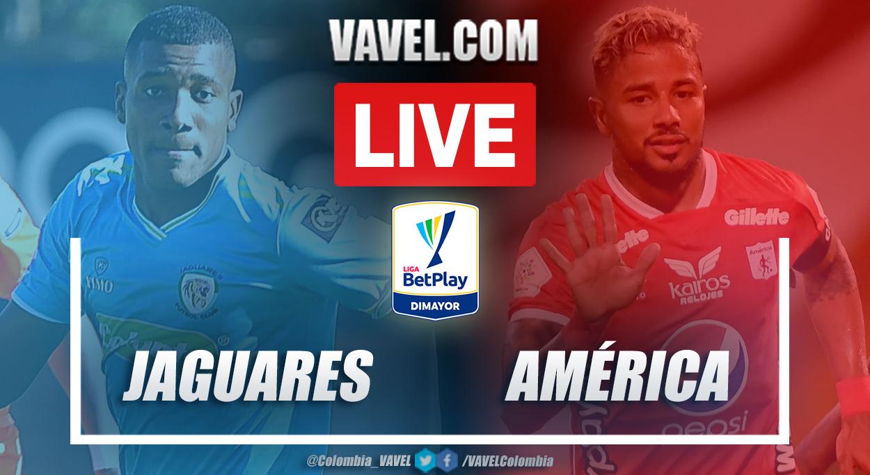 Resumen Jaguares vs América (0-0) en la fecha 18 por Liga BetPlay 2021-I