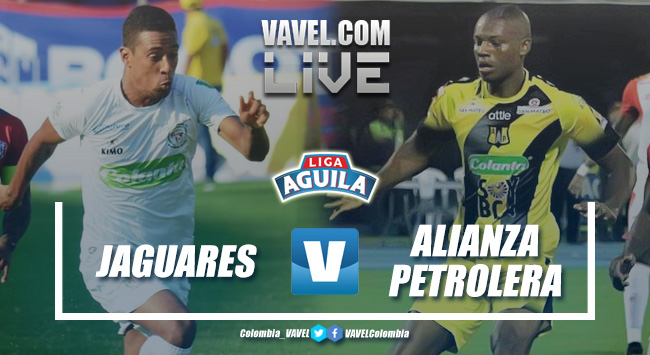 Resumen Jaguares de Córdoba vs Alianza Petrolera por la Liga Águila 2019-I (0-0)