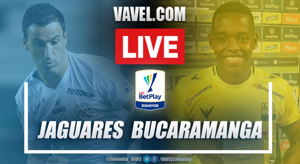 Resumen Jaguares vs Bucaramanga (2-1) en la fecha 2 por Liga BetPlay 2021-I