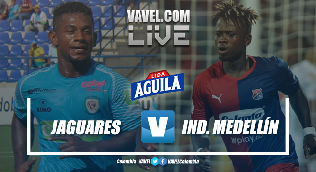 Resumen: Jaguares de Córdoba vs. Independiente Medellín por la Liga Aguila 2019-II (0-1)
