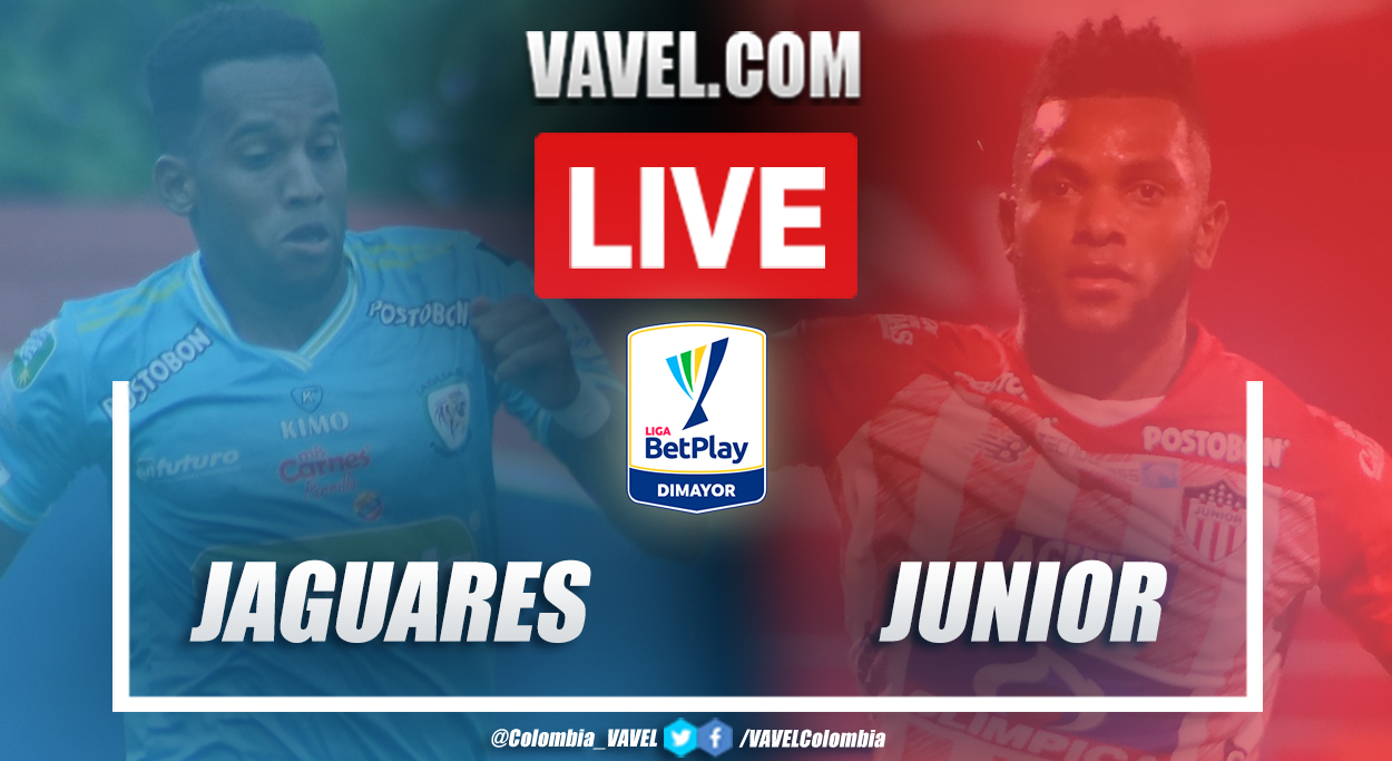 Resumen: Jaguares vs Junior (2-2) por la Liga BetPlay 2020