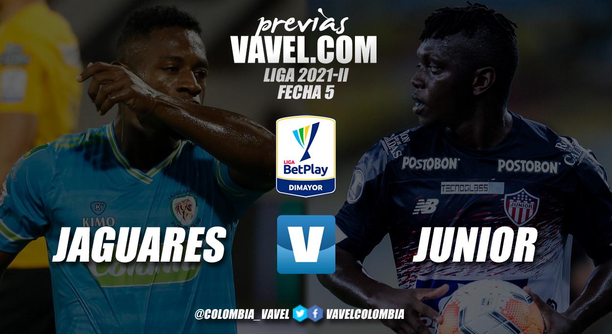 Previa Jaguares vs Junior: encuentro para ingresar a la lista de los ocho mejores de la tabla