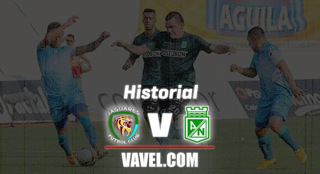Historial Jaguares vs Atlético Nacional: supremacía 'verdolaga'
