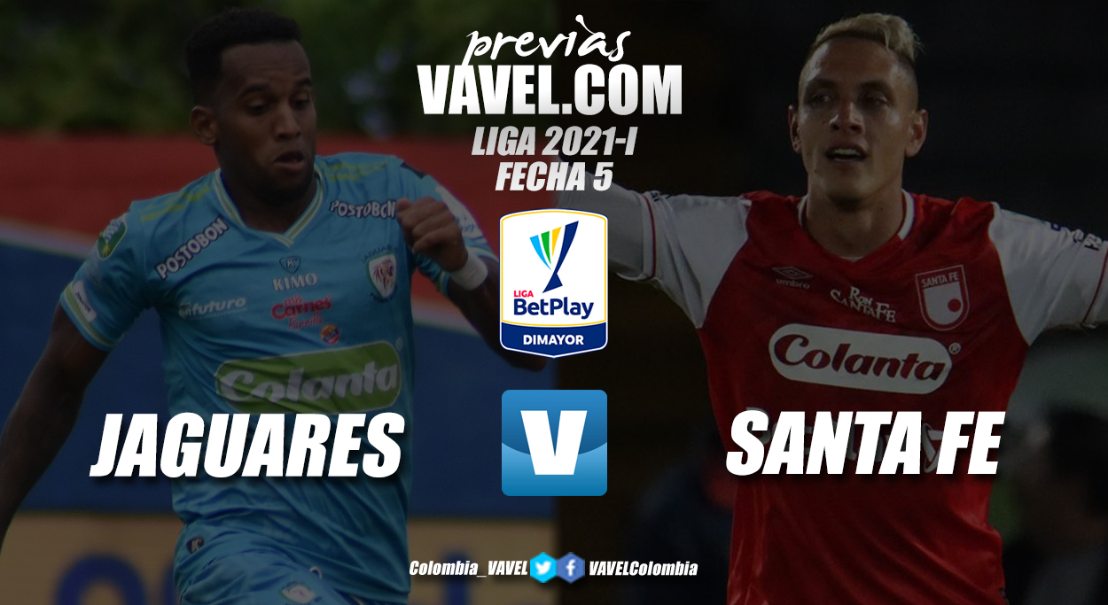 Previa Jaguares de Córdoba vs. Independiente Santa Fe: por el zarpazo de la victoria