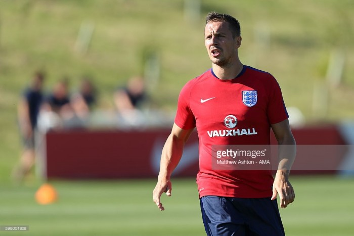 Phil Jagielka pulls out of England squad with injury
