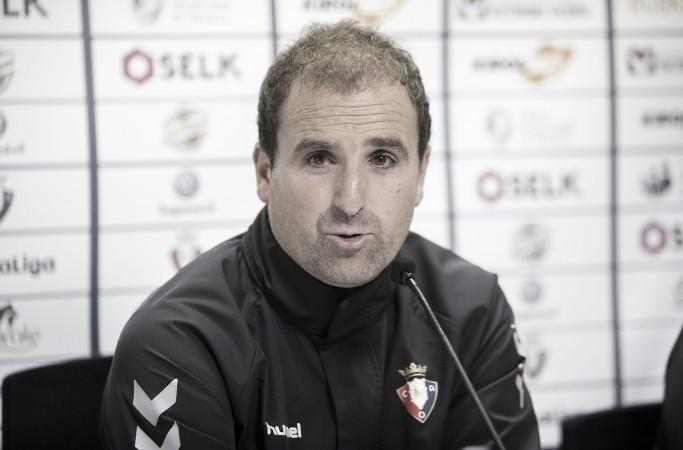 """Jagoba Arrasate: """"Tendremos que hacer muchísimas cosas bien pero yo espero un partido bonito y abierto"""""""