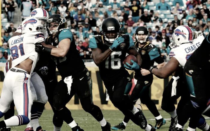 Previa Jacksonville Jaguars - Buffalo Bills: un duelo para nada esperado