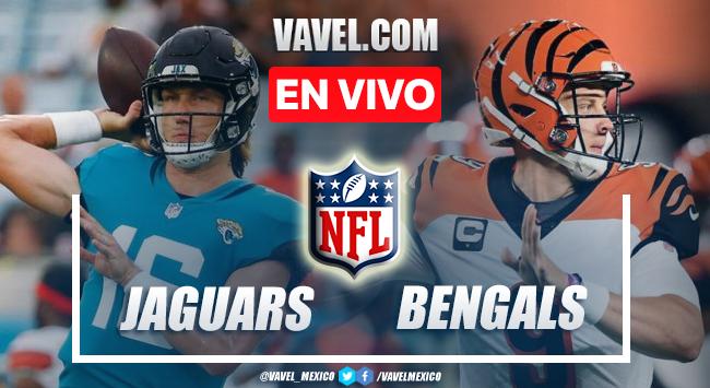 Resumen y Touchdown del Jaguars 21-24 Bengals en la NFL 2021