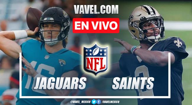 Resumen y anotaciones del Jaguars 21-23 Saints en Pretemporada NFL