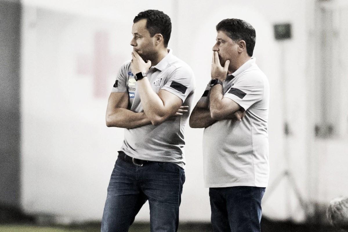 Jair Ventura vê Santos voltando aos trilhos após vitória contra Paraná
