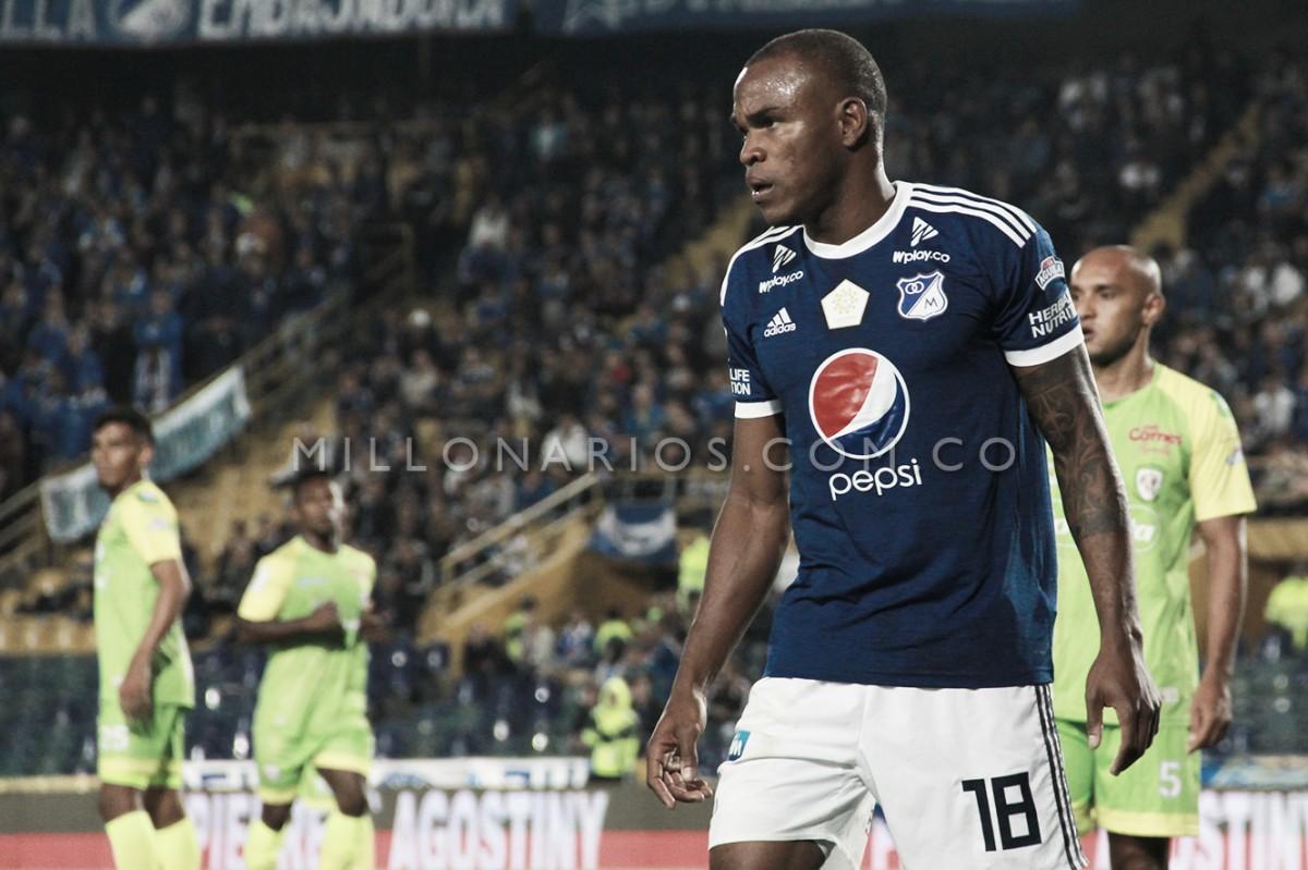 Jair Palacios, ausente ante Equidad