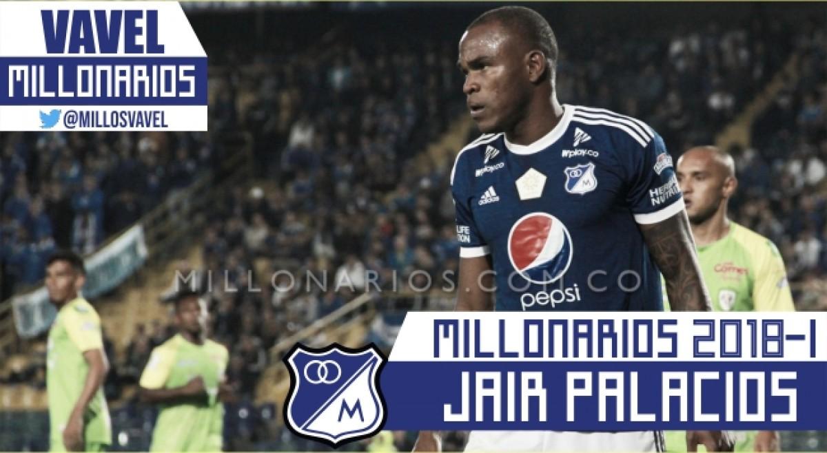 Millonarios 2018-I: Jair Palacios