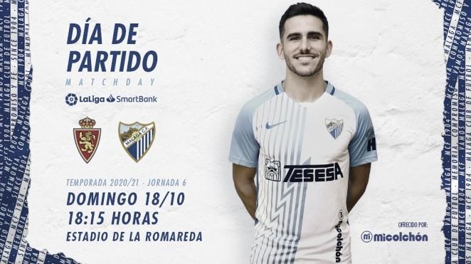 Día de partido. Jairo Sampeiro. / Foto: Málaga CF