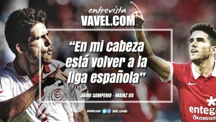 """Entrevista. Jairo Samperio: """"En mi cabeza está volver a la liga española"""""""