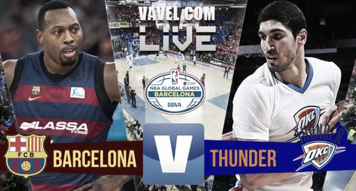 Final: FC Barcelona 89-92 Oklahoma City Thunder