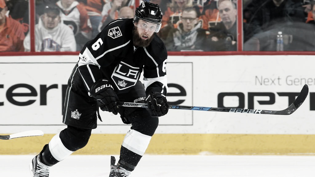 Toronto Maple Leafs adquiere a Jake Muzzin en un traspaso con L.A. Kings