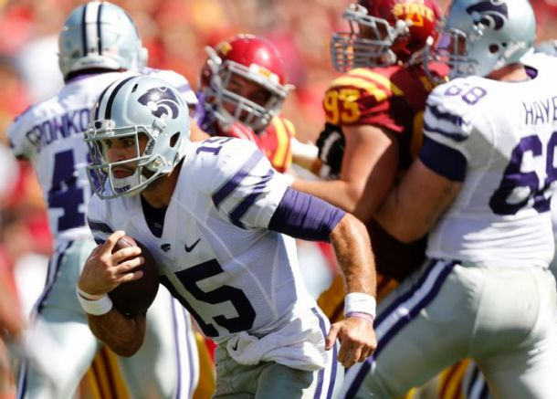 Kansas State Needs Late Touchdown To Get By Iowa State