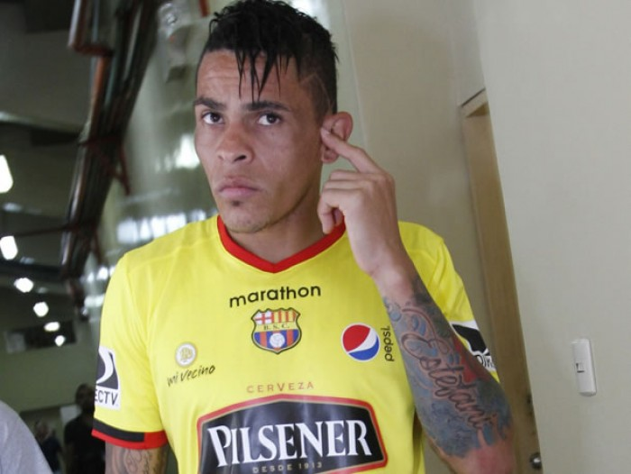 Una de las figuras de Barcelona SC la pasa mal