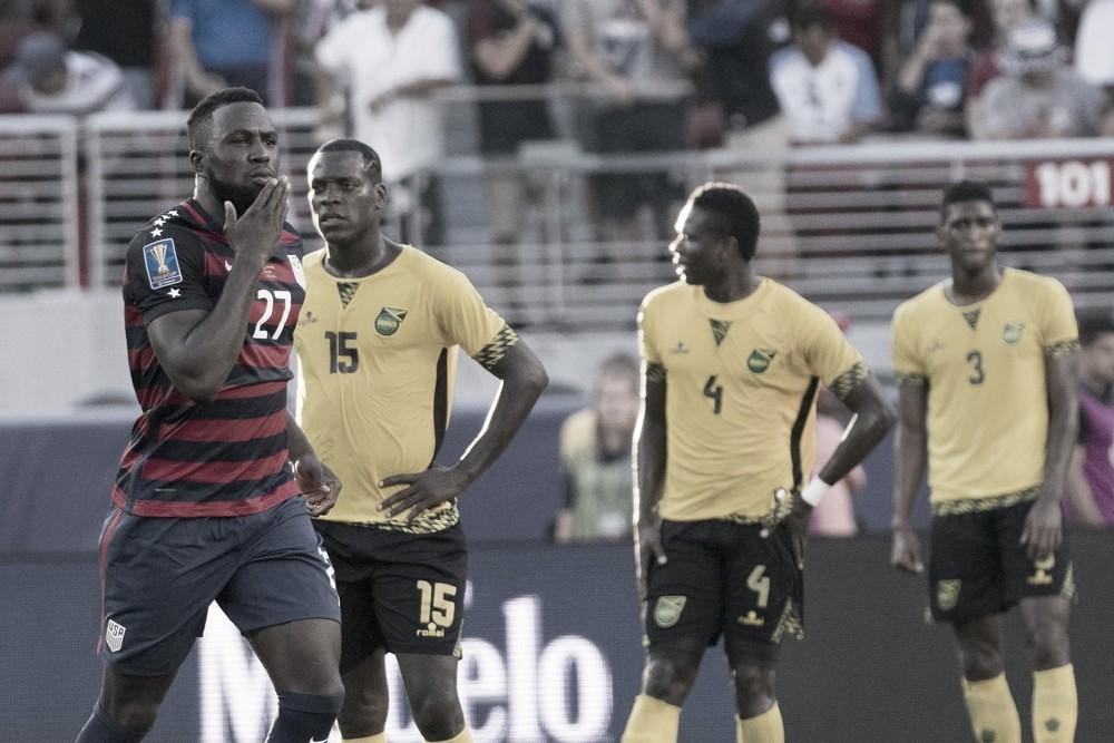 Jogo Jamaica x Estados Unidos AO VIVO online pela Copa Ouro (1-2)
