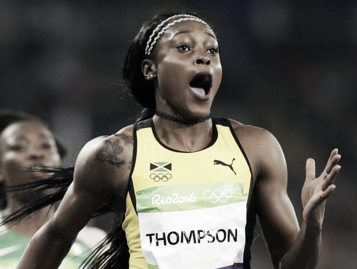 Rio 2016: Elaine Thompson stuns training partner Fraser-Pryce