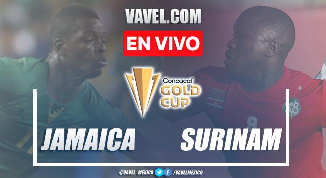 Goles y resumen del Jamaica 2-0 Surinamen Copa Oro 2021