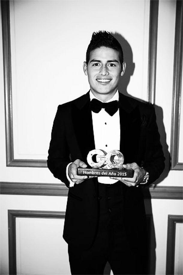 James Rodríguez, galardonado y listo para jugar
