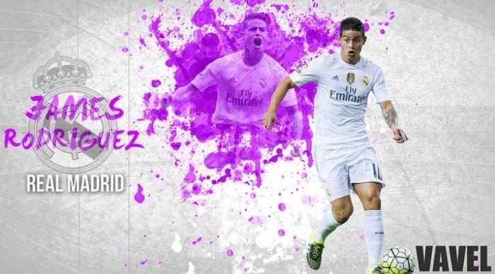 Real Madrid 2015/2016: James Rodríguez, de revelación a decepción