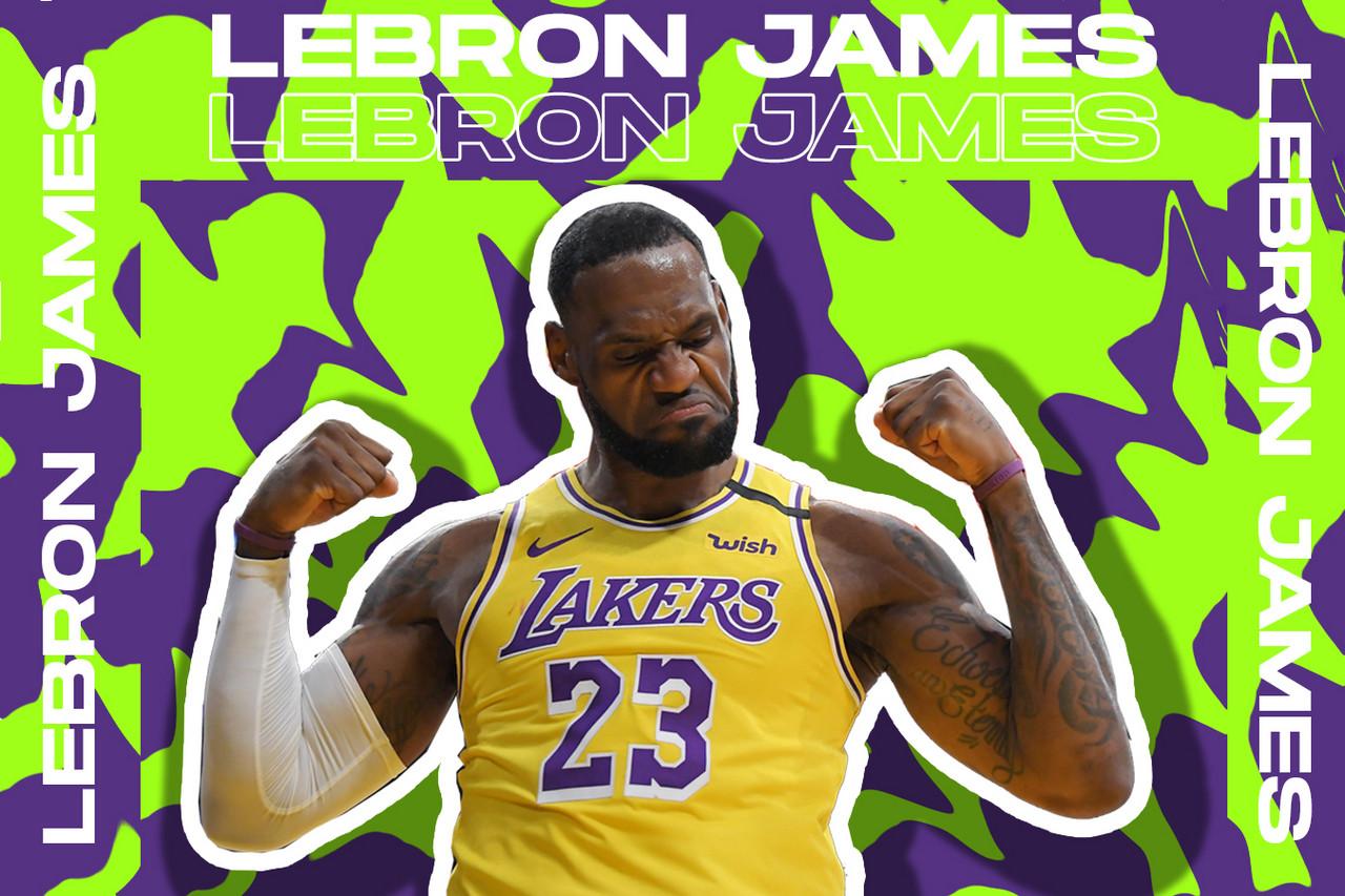 Montaje de LeBron James. Vía: Mario Galán