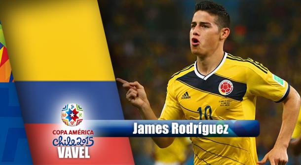 Camino a Chile 2015: James Rodríguez