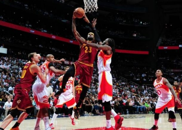 a3524c80b518 Scores Atlanta Hawks - Cleveland Cavaliers 2015 NBA Playoffs Eastern  Conference Finals Game 4 (88,118