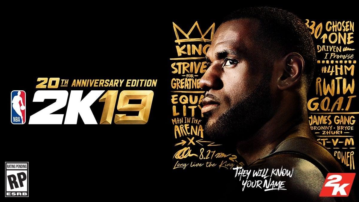 James será la portada de NBA2K19