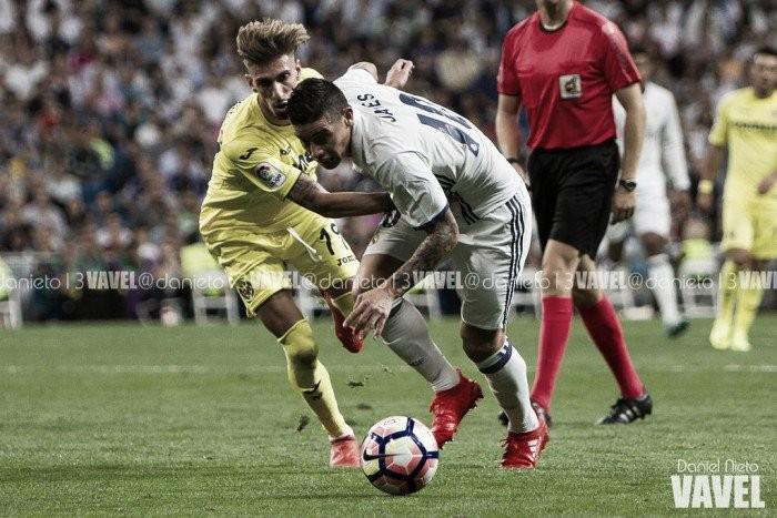 James Rodríguez, elegido como el mejor del Real Madrid - Villarreal