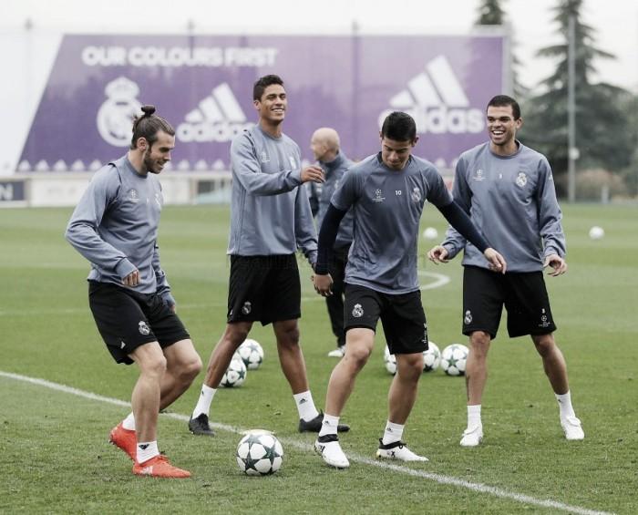 Todo listo en el Real Madrid para recibir al Legia