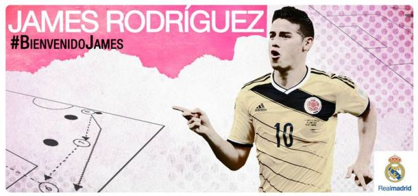 James Rodríguez ya es 'merengue'