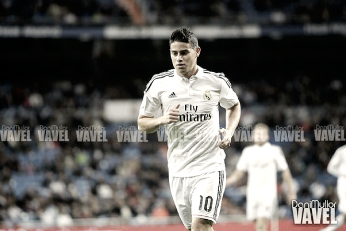 James se va con Ancelotti