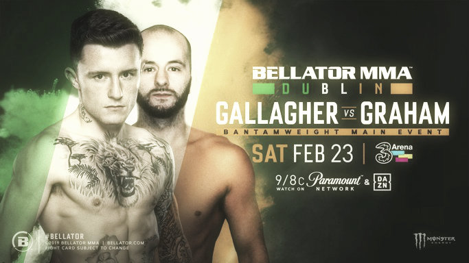 Gallagher encabezará el evento Bellator Dublín