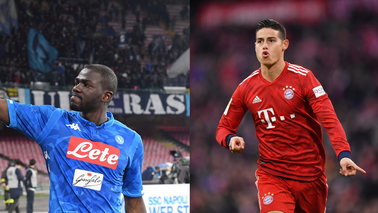 Napoli - Assalto del City su Koulibaly: ADL regala James e Manolas