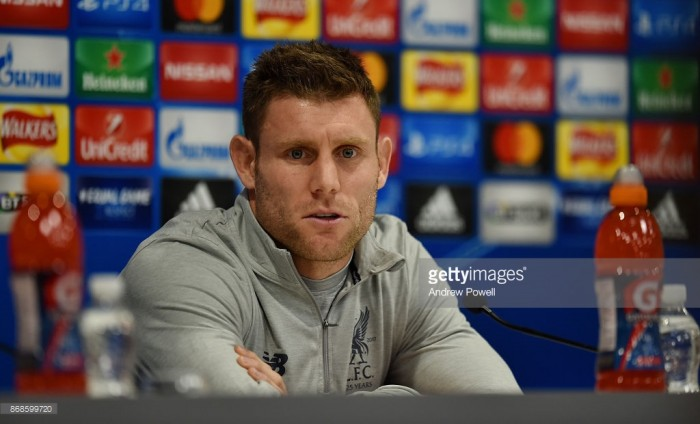 James Milner relishing being back in natural midfield role