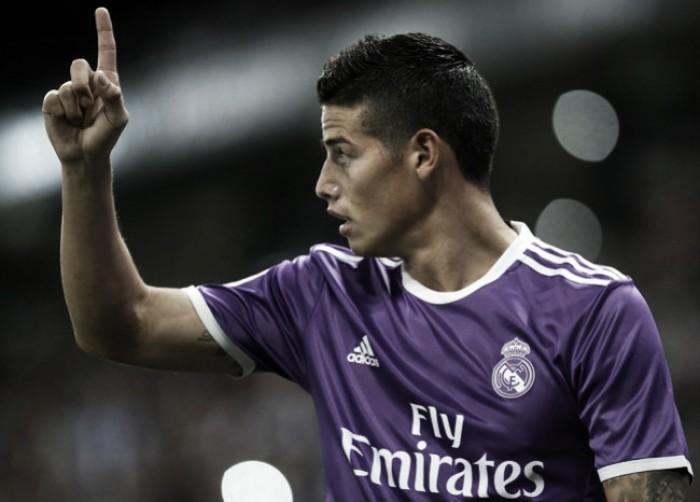James Rodríguez, elegido como mejor jugador del Espanyol - Real Madrid