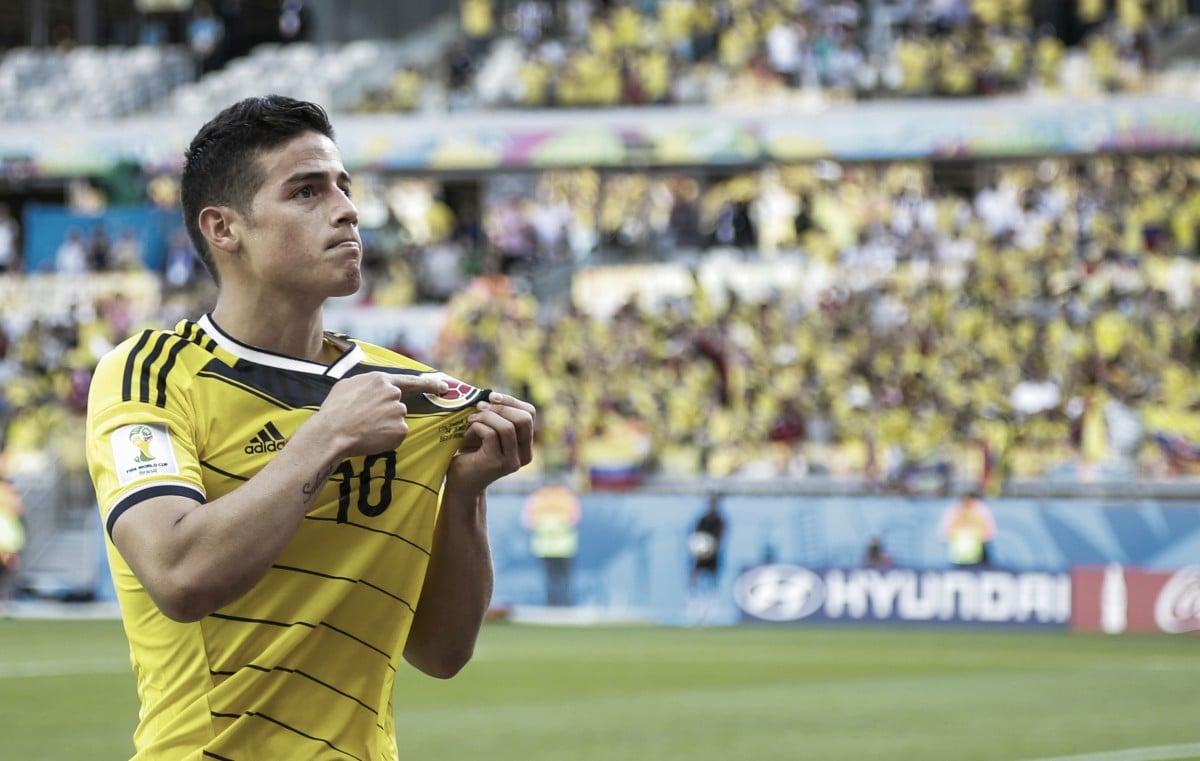 James, la mayor hazaña del Mundial Brasil 2014