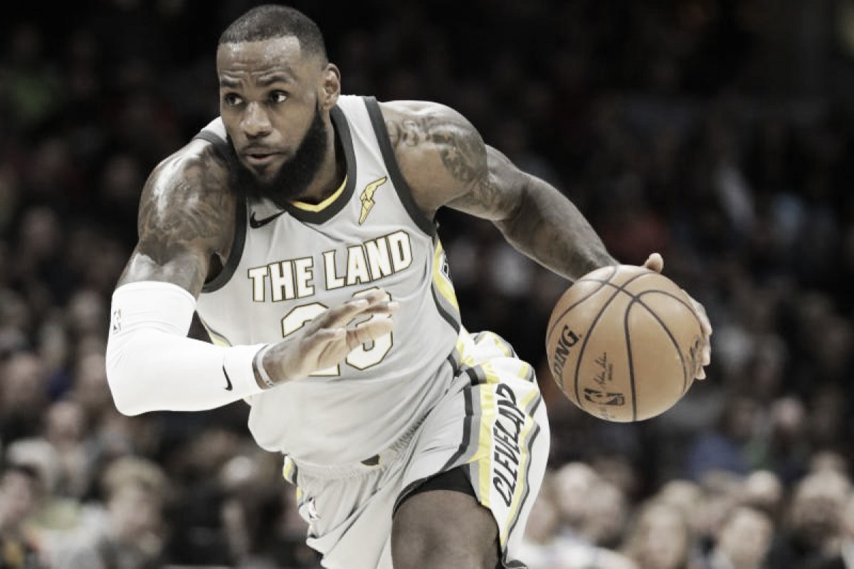 LeBron James Thinks He Should Be This Season's MVP