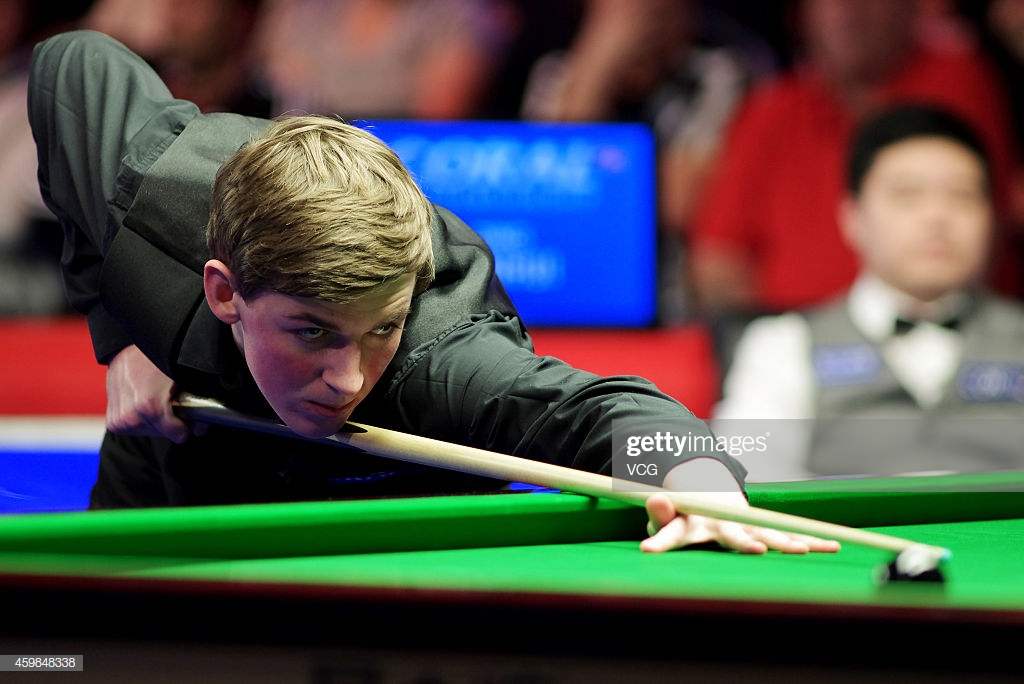 Cahill has defeated the likes of Ding Junhui during his relatively short career (photo: Getty Images)