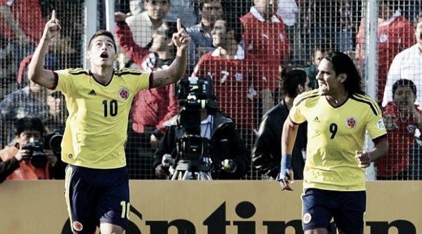 James Rodríguez y Radamel Falcao, entre los diez jugadores más valiosos del 2014