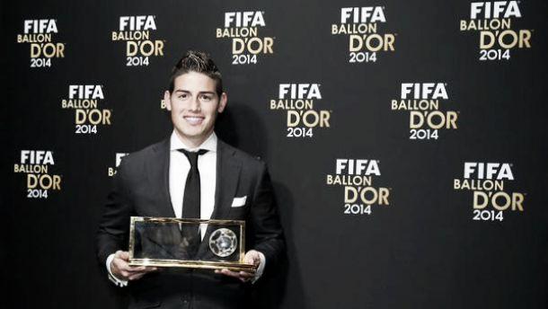 James Rodríguez, ganador del Puskás