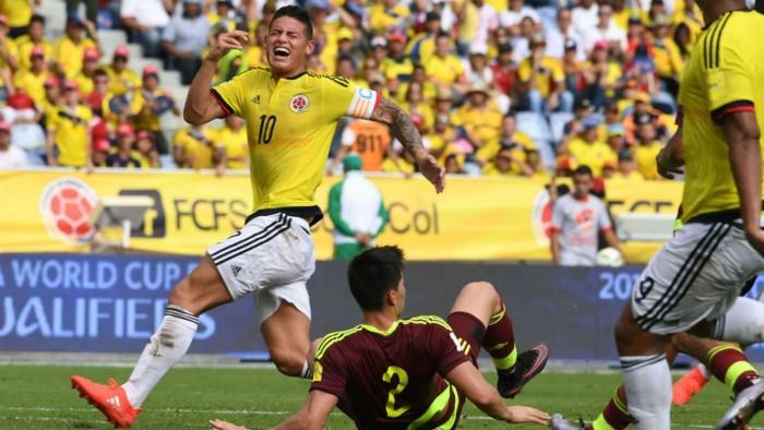 Qualificazioni Russia 2018 - Colombia show: Venezuela fuori dai giochi