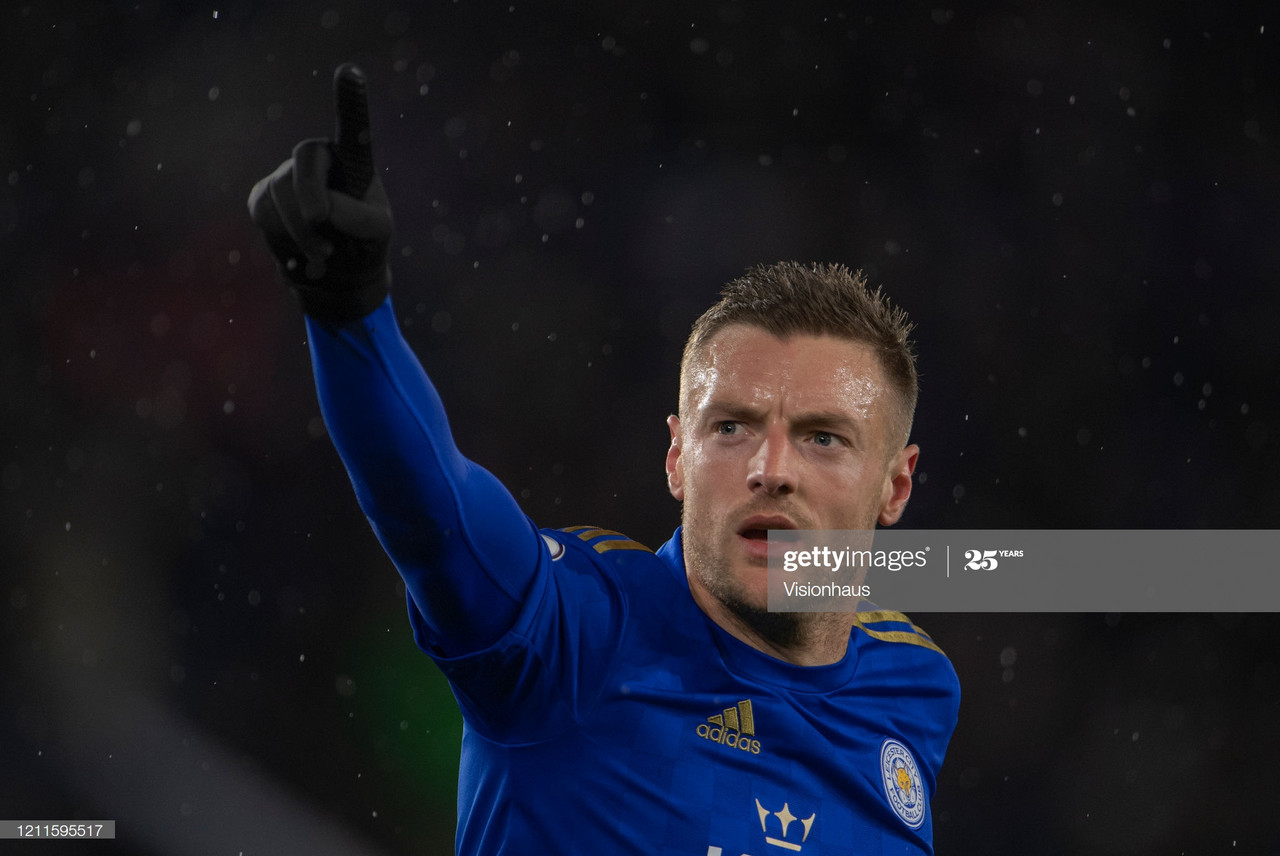 Can Leicester's Jamie Vardy win the Golden Boot?