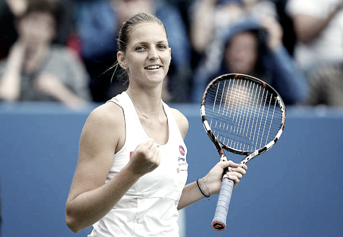 Karolina Pliskova joins growing list of players out of Birmingham